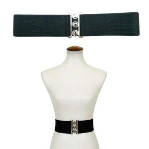 Banned Stretch Belt in Black